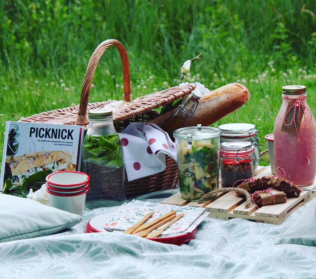 wat in picknickmand